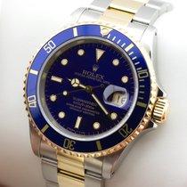 Rolex Submariner Date Edelstahl Gold Herrenuhr Two Tone Mint