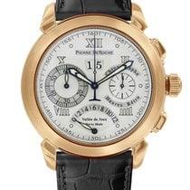 Pierre DeRoche GrandCliff Retro Hours 18k Rose Gold Men's Watch