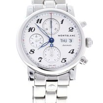 Montblanc - Star 39 Automatic Silver Dial Day Date - 106468 -...
