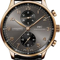 IWC Portuguese Automatic Chronograph Rose Gold IW371482