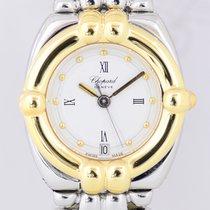 Chopard Gstaad Gold/Stahl 24mm Weiß Römisch Deutschland, Langenfeld