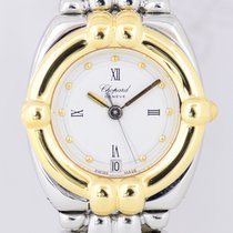 Chopard Gstaad Gold/Steel 24mm White Roman numerals