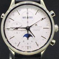 Maurice Lacroix Les Classiques Chronographe 41MM Steel Leather...