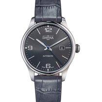 Davosa Gentleman Steel 40mm Grey Arabic numerals