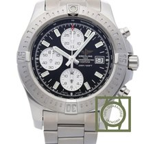 Breitling Chronomat Colt Chronograph Automatic Black Dial Full...