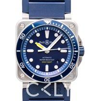 伯莱士 BR 03-92 Diver Blue Steel/Rubber 42mm - BR0392-D-BU-ST/SRB