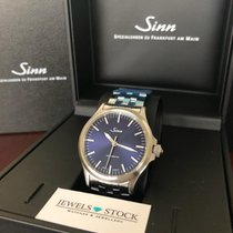 Sinn Acier Remontage automatique Bleu Sans chiffres 38,5mm nouveau 556