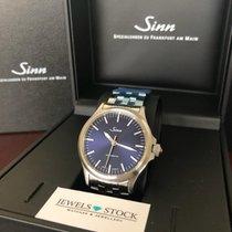 Sinn 556 Steel 38,5mm Blue No numerals