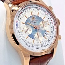 Breitling RB0510U0/A733 Rose gold Transocean Chronograph Unitime 46mm pre-owned United States of America, Florida, Boca Raton