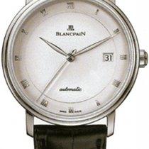 Blancpain Villeret Ultra-Slim 6223-1127-55b New Steel 38mm Automatic United States of America, New York, New York