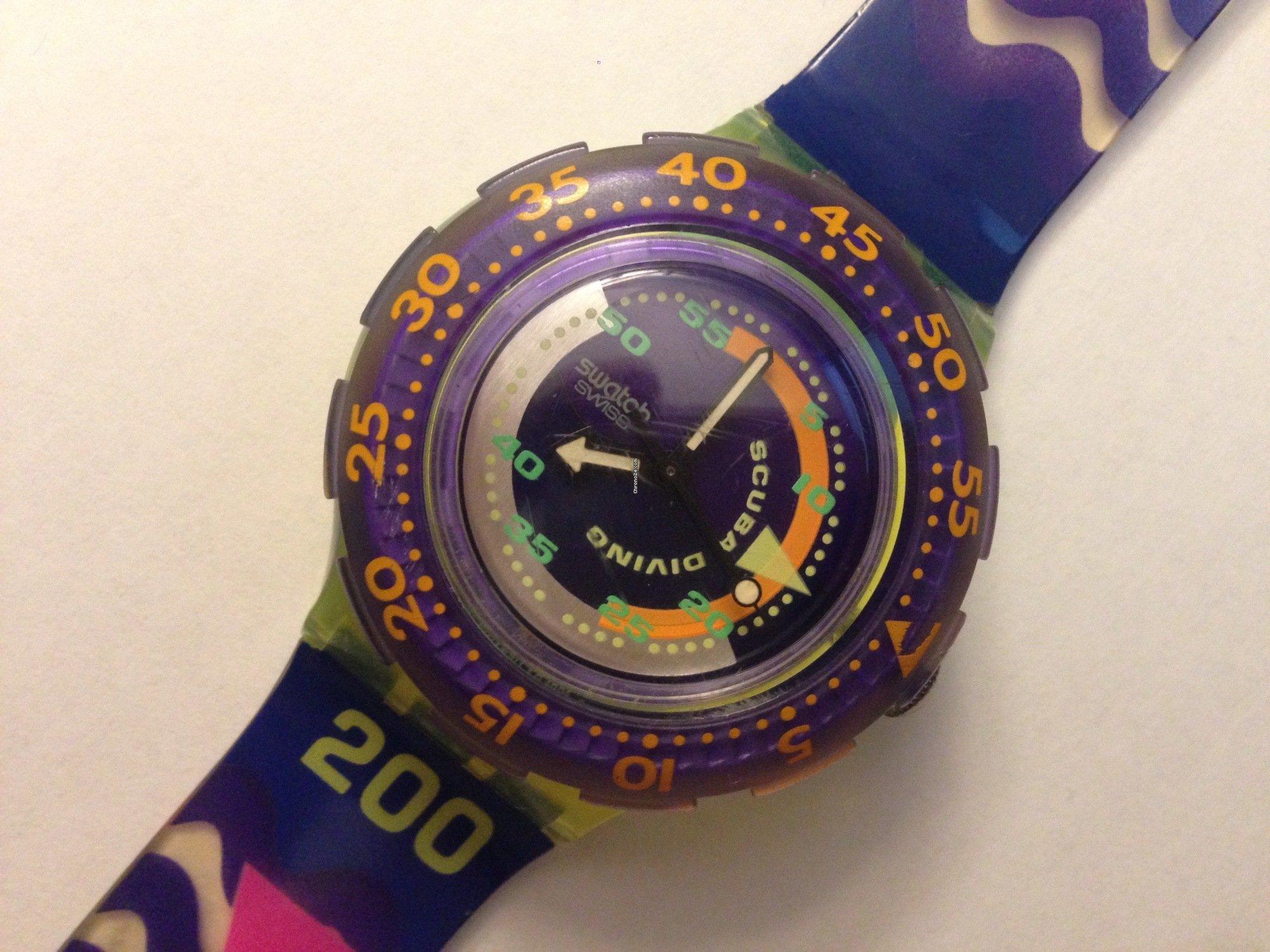 Swatch scuba 200