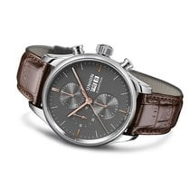 Union Glashütte Viro Chronograph Steel 44mm Grey