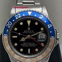 Rolex 1675 Ατσάλι 1966 GMT-Master 40mm μεταχειρισμένο
