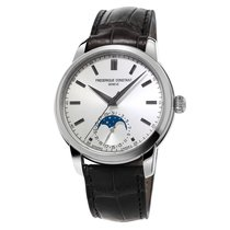 Frederique Constant Manufacture Classic Moonphase Steel 40.5mm Silver