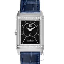 Jaeger-LeCoultre Reverso Classic Medium Duetto Steel Black