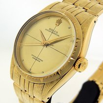 Rolex Yellow gold Automatic Gold 34mm pre-owned Oyster Perpetual