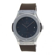 Hublot Classic Fusion 45, 42, 38, 33 mm pre-owned 45mm Black Date Rubber