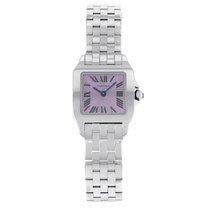 Cartier Santos Demoiselle Steel 20mm Purple