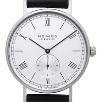 NOMOS Ludwig Automatik Staal 40mm Wit