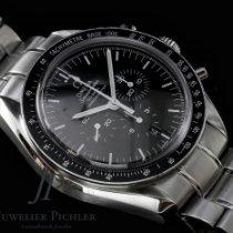 Omega Speedmaster Professional Moonwatch Сталь 44mm Чёрный Без цифр