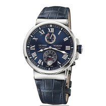 Ulysse Nardin Marine Chronometer Manufacture Titanium 43mm Blue