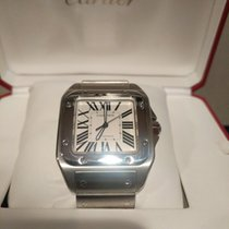Cartier Santos 100 new Automatic Watch with original box and original papers W200737G