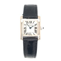 Cartier Tank Française White gold 20mm Silver Roman numerals United States of America, Arizona, Tucson