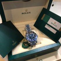 Rolex GMT-Master II новые 2019 Автоподзавод Часы с оригинальными документами и коробкой 116710BLNR