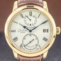 Glashütte Original Senator Chronometer Rose gold 42mm Silver Roman numerals United States of America, Massachusetts, Boston