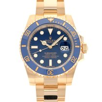 Rolex 116618LB Yellow gold Submariner Date 40mm pre-owned United States of America, California, Beverly Hills