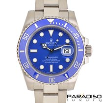 Rolex Submariner Date 116619LB 2014 pre-owned