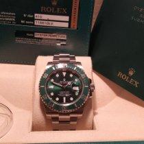 Rolex Submariner Date 116610LV Very good Steel