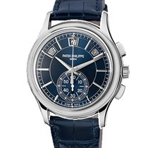 Patek Philippe 5905P-001 Platinum Annual Calendar Chronograph 42mm pre-owned United Kingdom, London