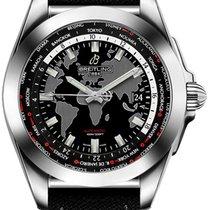Breitling Galactic Unitime neu Automatik Uhr mit Original-Box WB3510U4-BD94-103W