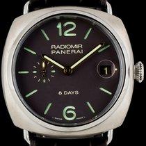 Panerai Titanium Unworn Radiomir 8 Days Titanio B&P PAM00346