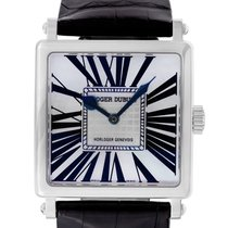 Roger Dubuis White gold Automatic Mother of pearl Roman numerals 37mm pre-owned Golden Square