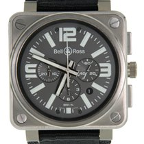Bell & Ross BR 01-94 Chronographe Titanium 46mm Grey