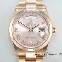 Rolex DAY DATE 118205 ROSEGOLD 750 AUTOMATIK 36 mm DayDate