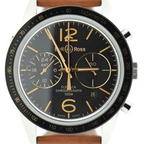 Bell & Ross BR V1 BRV126-FLY-GMT/SCA new