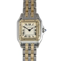 Cartier Ladies Panthere in Steel & Gold (2 Rows), Ref:...