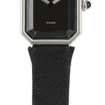 Chanel | A Lady's Platinum Octagonal Wristwatch Case...