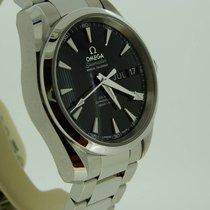 Omega Seamaster Aqua Terra Steel Black No numerals