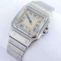 Cartier Santos Galbee Herren Uhr Stahl Datum Ref. 987901