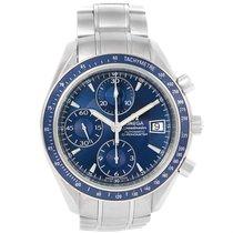 Omega Speedmaster Date Blue Dial Steel Watch 3212.80.00