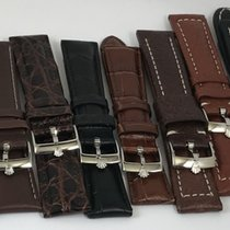 Rolex 20mm Leather Straps- Submariner, Explorer in Stainless...