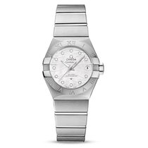 Omega Constellation Ladies Steel 27mm Mother of pearl