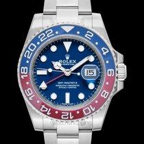 Rolex GMT-Master II Blue 18k white gold 40mm - 116719BLRO