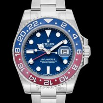 Rolex GMT-Master II Blue 18k white gold 40mm - 116719BLRO