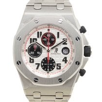 愛彼 Royal Oak Offshore Stainless Steel Silver Automatic...