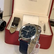 Omega De Ville Chronograph Blue Dial Men's used watch + Box